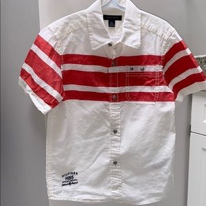 2/$40 Tommy Hilfiger Boys polo shirt sz 6-7